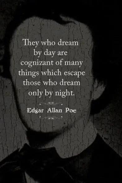 edgar allan poe quotes about dreams