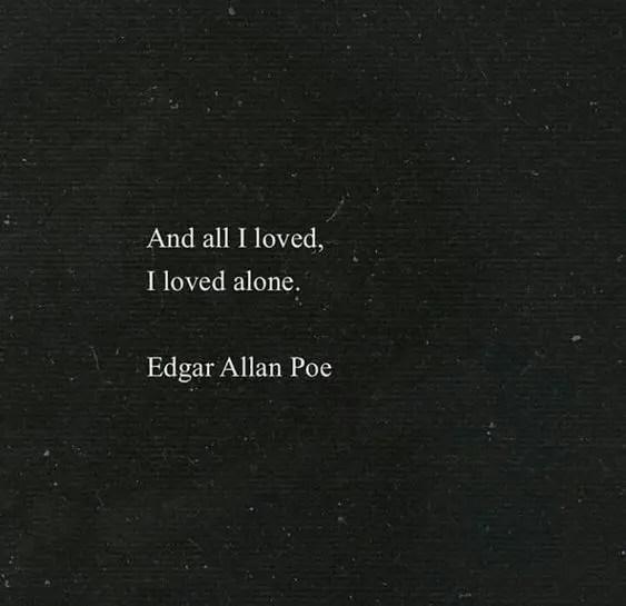 edgar allan poe sayings