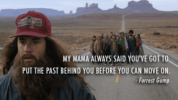 forrest gump quotes on running