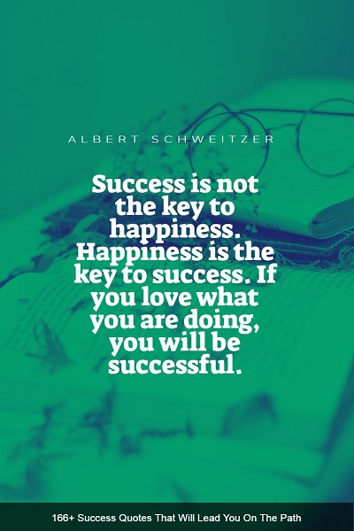 inspirational sayings about success