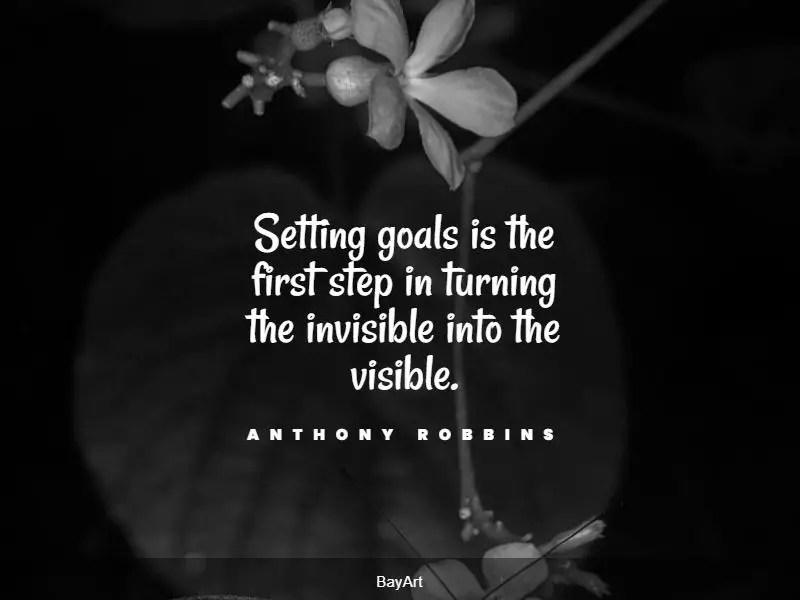 best goals quotes
