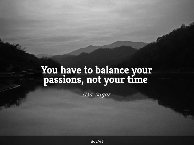 encouraging life balance quotes