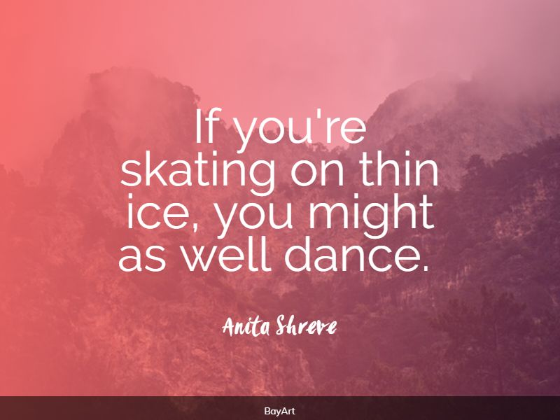 famous ice quotes