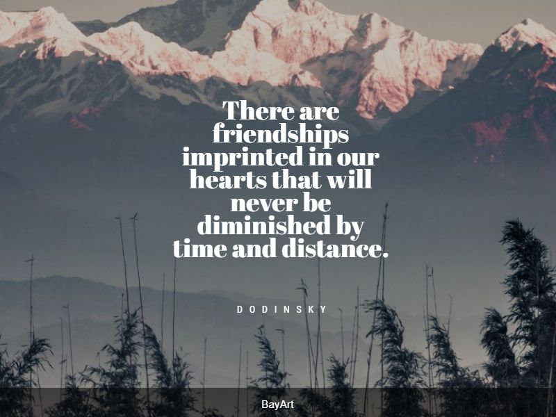 best long distance friendship quotes