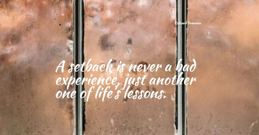 setback quotes