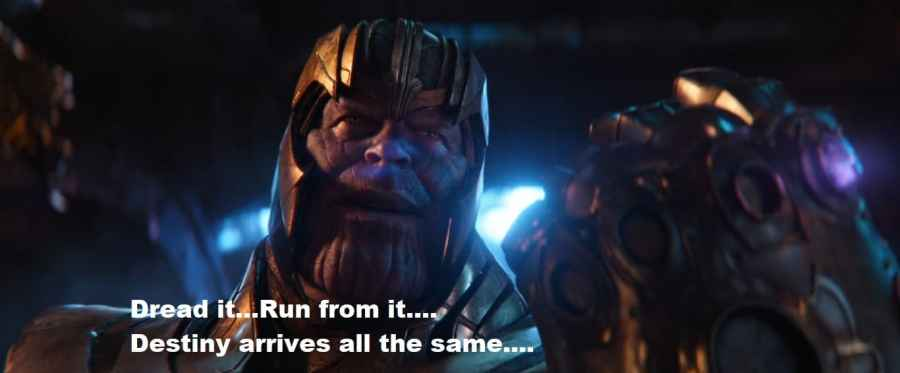 motivational Thanos quotes