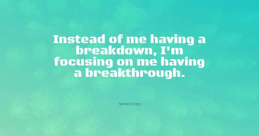 breakdown quotes