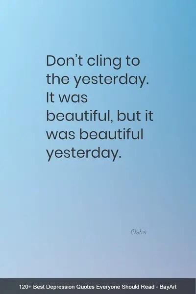 inspiring depression quotes