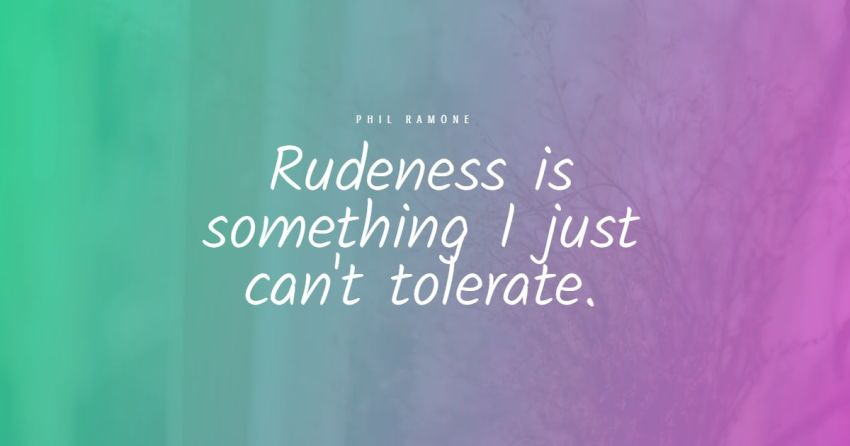 rude people quotes