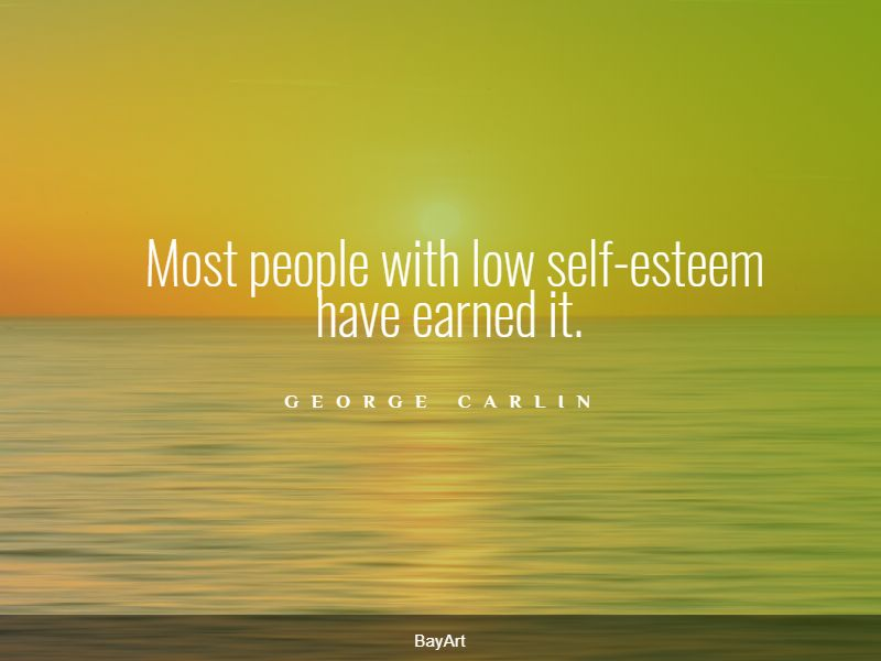 top low self-esteem quotes