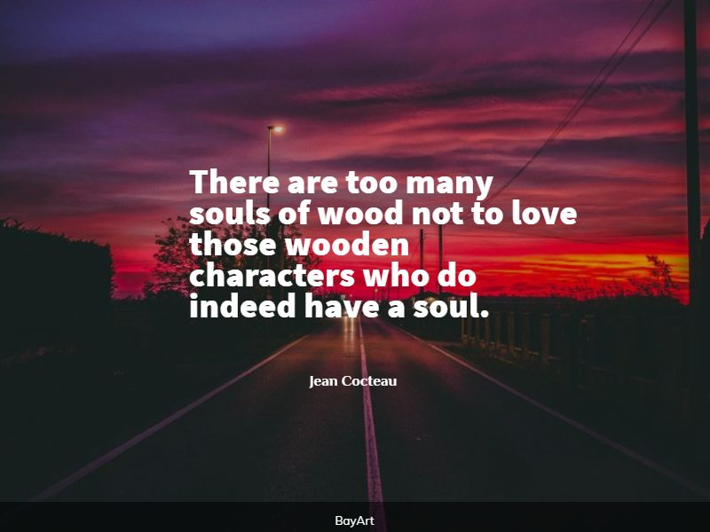 famous woods quotes