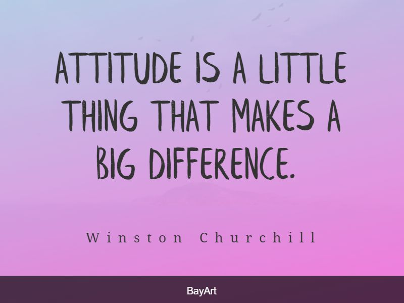 quotes about attitude