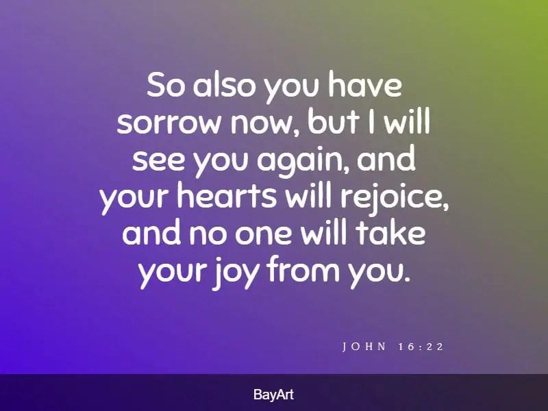 Bible verses for comfort
