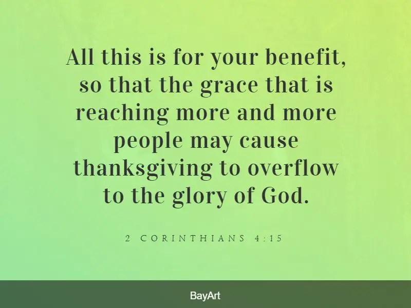 thankful Bible verses