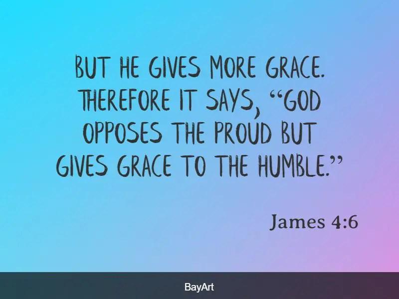 scriptures on pride