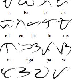 baybayin symbols
