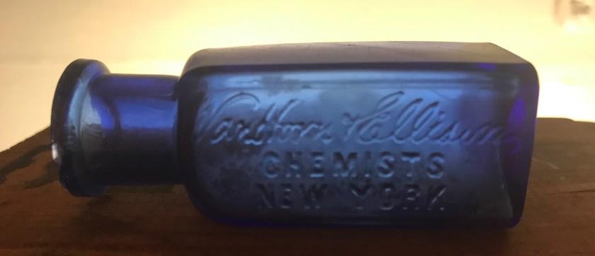Van Horn Ellison Chemists New York Bay Bottles