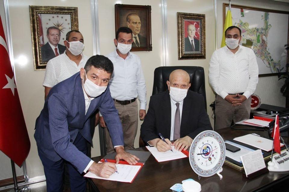 Bayburt Belediyesinde toplu iş sözleşmesi imzalandı