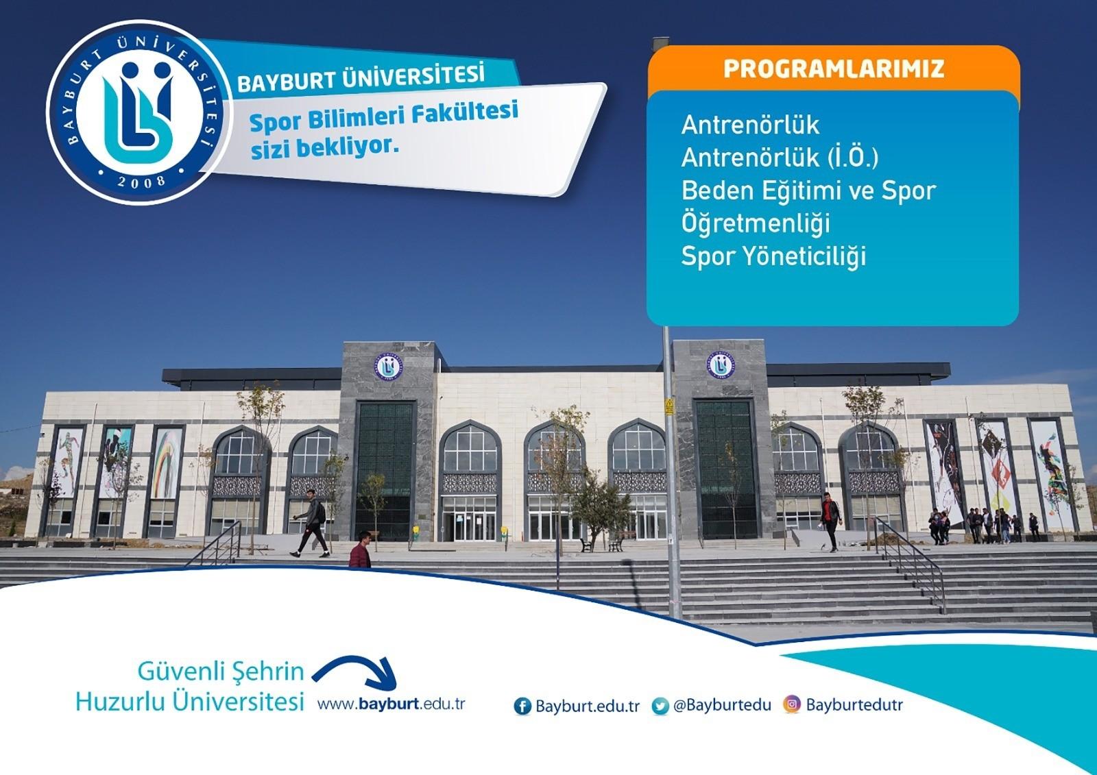 Bayburt Üniversitesi; halter, boks ve ragbi spor branşında pilot üniversite olarak belirlendi