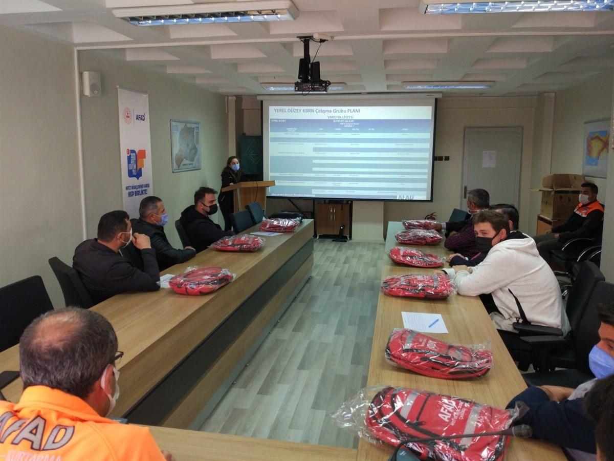 Bayburt TAMP 2021 KBRN çalışma grubu toplantısı yapıldı