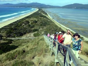 The Isthmus on Bruny Island