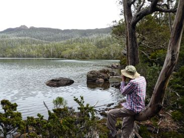 Rodney at Forgotten Lake, Lake St Clair National Park