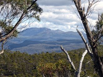 Walls of Jerusalem National Park located on a high plateau in the centre of Tasmania, and inaccessible by road