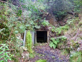 Main mine shaft