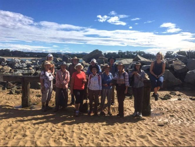 The group at Moruya south head