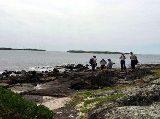Lunch on O'Hara Head overlooking Kioloa Bay