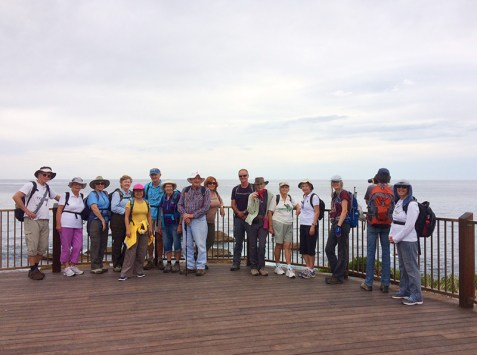Group at lookout