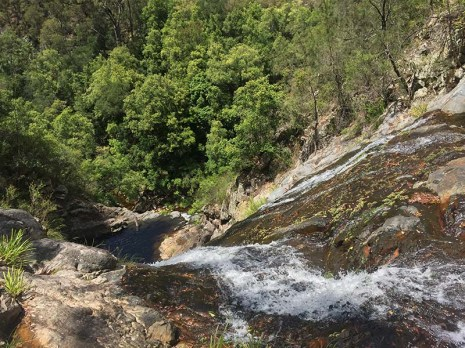 Top of Waterfall No 4