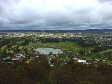 View of Goulburn from War Memorial Tower
