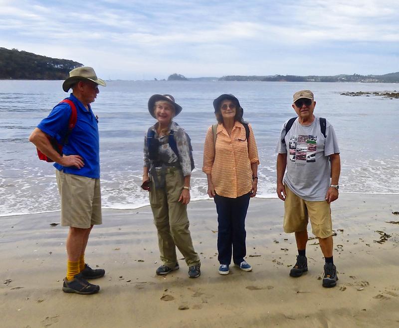 Bob, Carol, Denise and Simeon at Surfside Beach