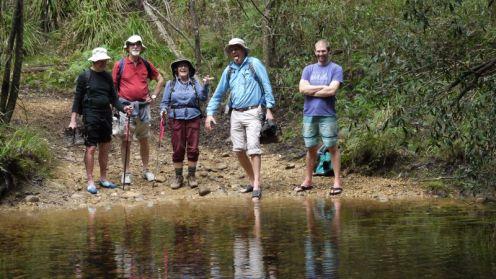 First toe in the Bimberamala River