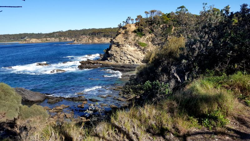 Mckenzies Beach To Malua Bay Return Batemans Bay Bushwalkers Inc