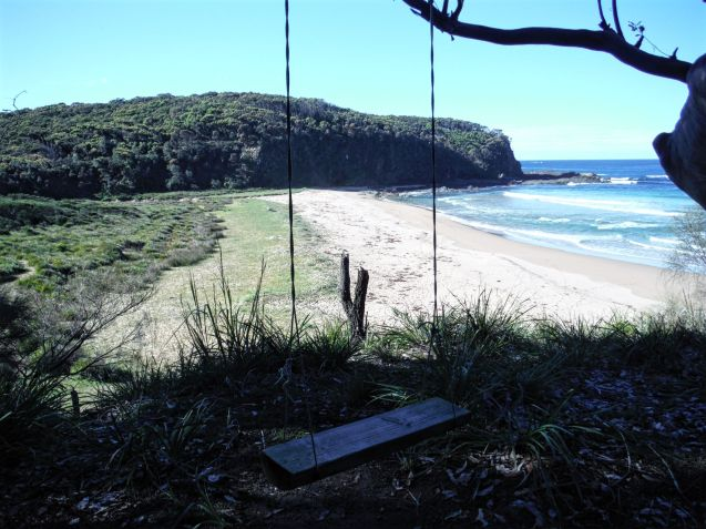A swing with a view