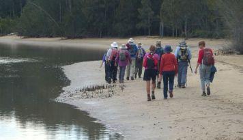 Cullendulla Creek at low tide