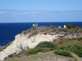The lookout at Green Cape Lighthouse,