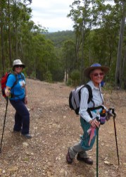 The hill Betty did not have us climb!