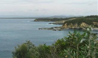 Coastal view.