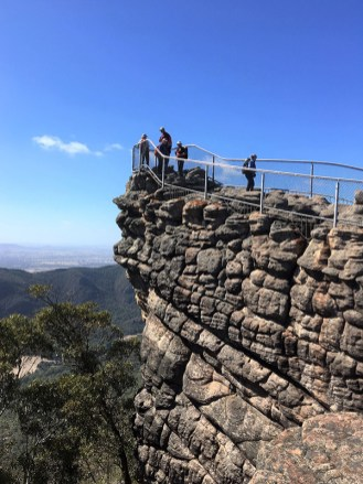 At the Pinnacle lookout.