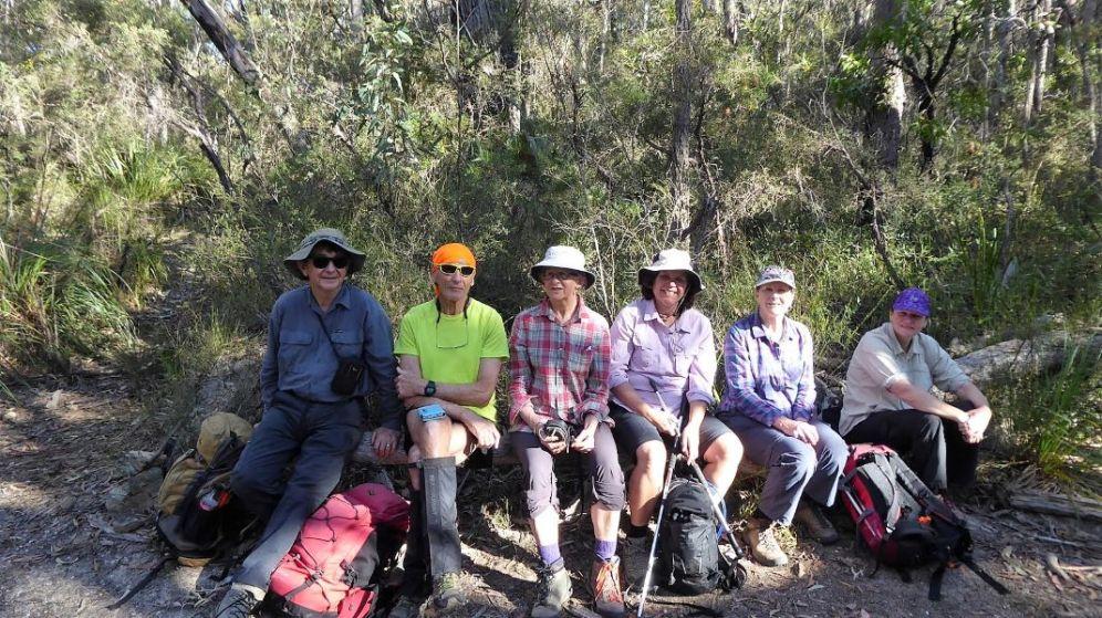 Barry, John, Lois, Rachael, Lin, Donna and Bruce behind the lens