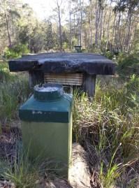 Bunker ventilation shaft