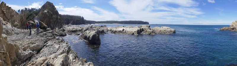 Checking out Three Islet Point