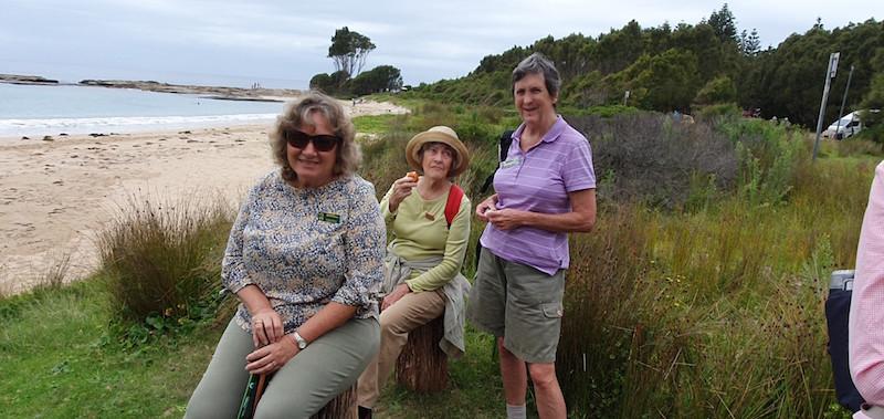 Deb, Joan and Heather