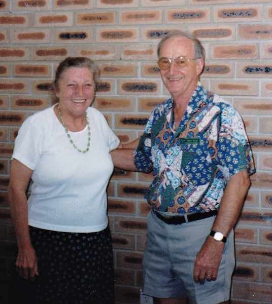 1999 Presentation - Grant with Beverley