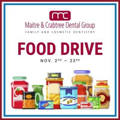 Maitre & Crabtree Seeking Food Drive Donations