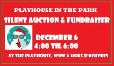 Playhouse in The Park Fundraiser Coming Up