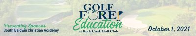 Golf Tournament to Benefit Education